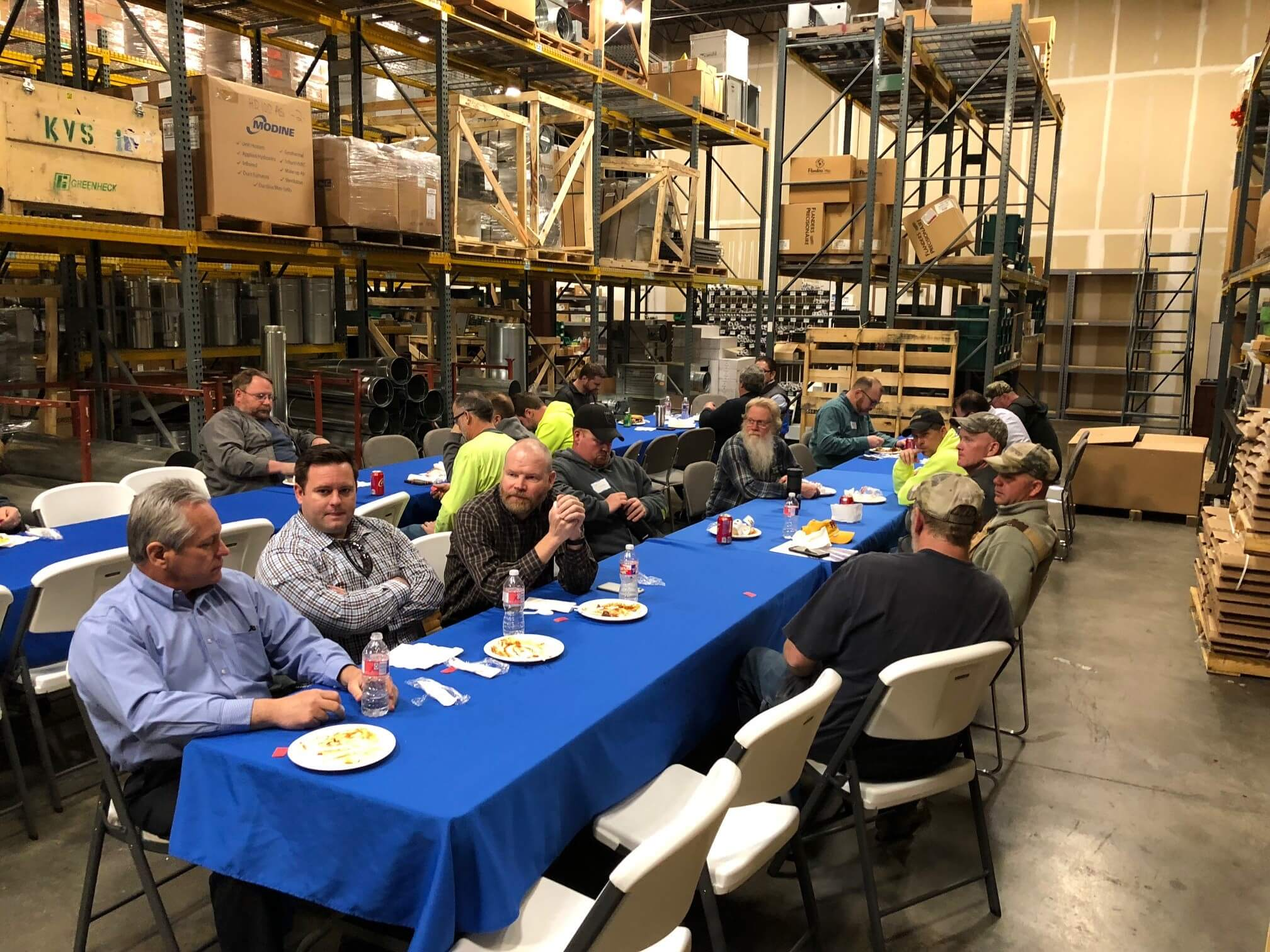 JRA WAREHOUSE LUNCHEON