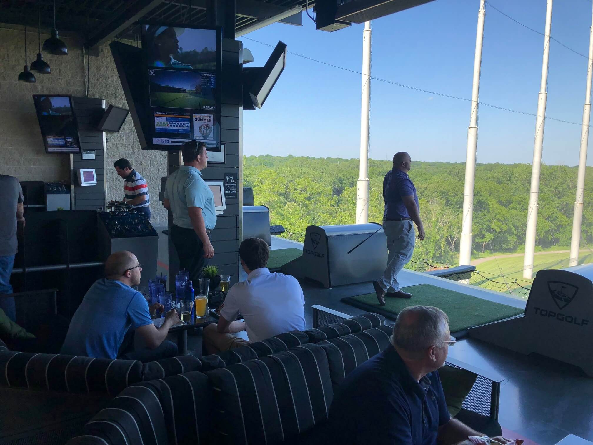CUSTOMER APPRECIATION AT TOP GOLF