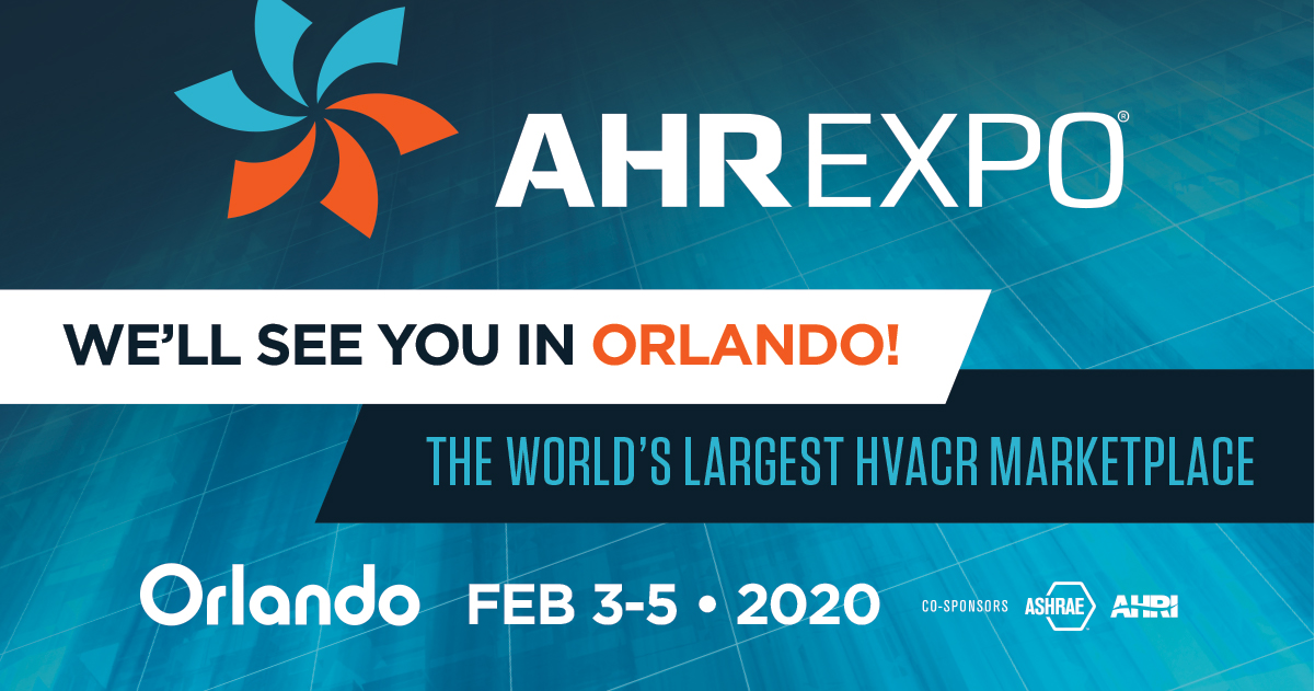 AHR EXPO 2020 – MANUFACTURERS